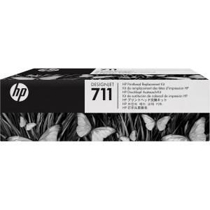 C1Q10A №771 Black цветной HP Комплект замены печатающей головки