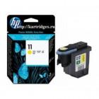 HP печатающая головка C4813A №11 Yellow
