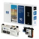 Черная Печатающая головка с устройством очистки для принтеров HP C5054A №90 Black