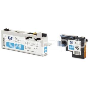 Голубая Печатающая головка с устройством очистки для принтеров HP C5055A №90HP