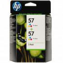 Картридж HP C9503AE №57 цветной, 2 шт/уп