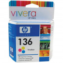 Картридж HP C9361HE №136 цветной