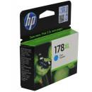 Картридж увеличенный HP CB323HE №178XL Cyan
