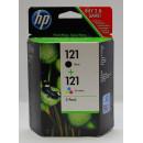 Картридж HP CN637HE №121 Black