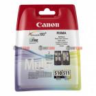 PG-510+CL-511/2970B010 Black цветной Canon набор цветной +черный