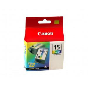 Картридж BCI-15C/8191A002 цветной Canon 2шт