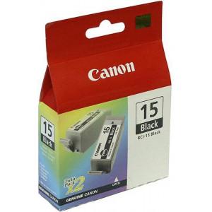 Картридж BCI-15Bk/8190A002 Black Canon 2шт