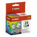 Картридж BCI-24CDbl/6882A009 цветной Canon 2шт