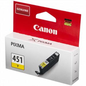 Картридж CLI-451 Y/6526B001 Yellow Canon картридж