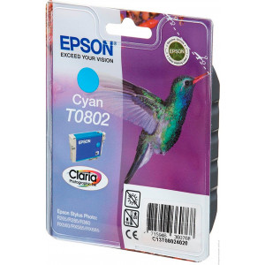 Картридж Epson T08024010 Cyan