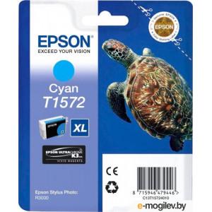 Картридж Epson T15724010 Cyan