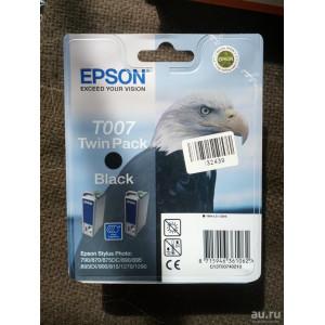 Картридж Epson T007402 Black