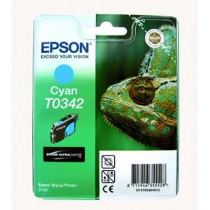 Картридж Epson T034240 Cyan