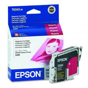 Картридж Epson T034340 Magenta