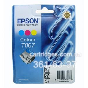 Картридж Epson T067040 цветной