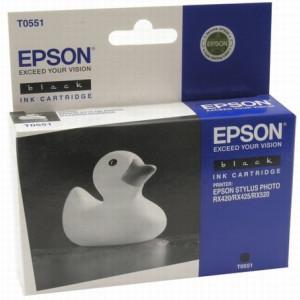 Картридж Epson T055140 Black