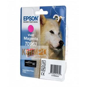 Картридж Epson T09634010 Magenta