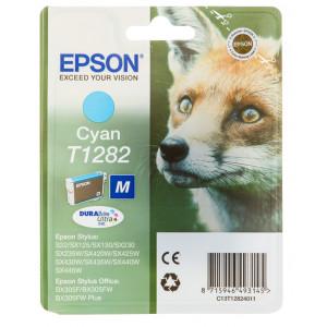 Картридж Epson T12824010 Cyan