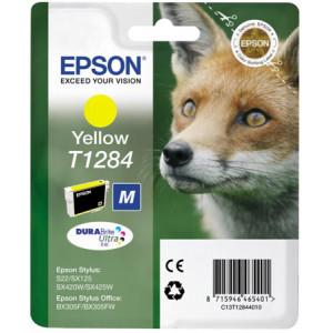 Картридж Epson T12844010 Yellow