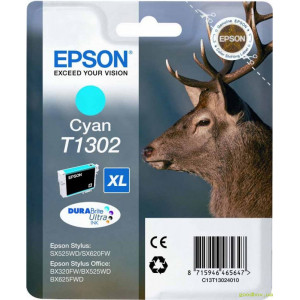Картридж Epson T13024010 Cyan