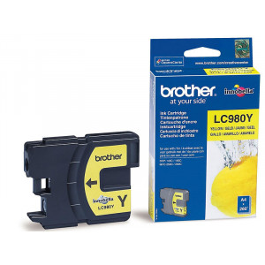 Картридж Brother LC980Y Yellow