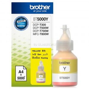 Картридж Brother BT5000Y Yellow