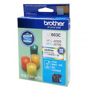 Brother LC663C Cyan оригинальный