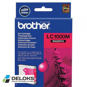 Brother LC1000M Magenta оригинальный
