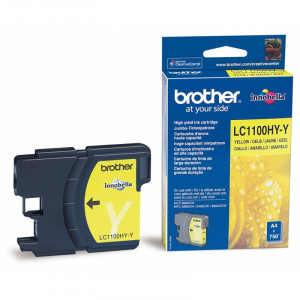 Картридж Brother LC1100HYY Yellow