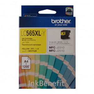 Картридж Brother LC565XLY Yellow
