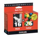 Набор картриджей 80D2126 Lexmark Lexmark (10N0016+10N0026)