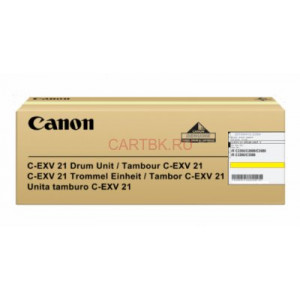 Драм-картридж С-EXV21 Y/0459B002BA 000 Yellow Canon