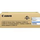Драм-картридж С-EXV21 С/0457B002BA 000 Cyan Canon
