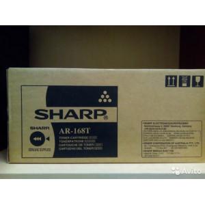Sharp Тонер-картридж AR168T Black