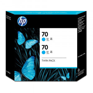 Двойная упаковка картриджей с матовыми чёрными чернилами HP CB339A