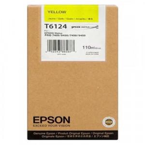 Картридж Epson T567400/612400 Yellow