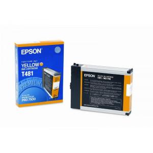 Картридж Epson T481011 Yellow