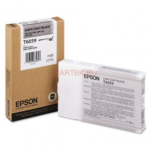 Картридж Epson T564900/605900 Light Gray