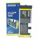 Картридж Epson T475011 Yellow