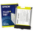 Картридж Epson T487011 Yellow
