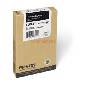 Картридж Epson T563100/603100 Black