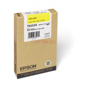 Картридж Epson T563400/603400 Yellow