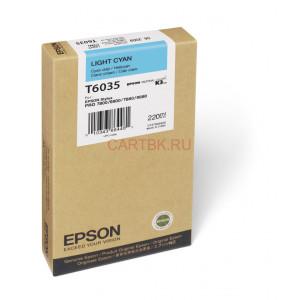 Картридж Epson T563500/603500 Cyan