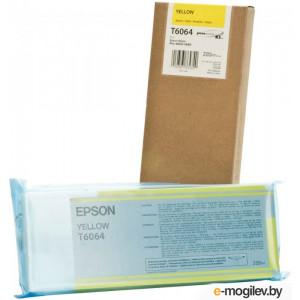 Картридж Epson C13T606400 Yellow