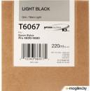 Картридж Epson C13T606700 Gray