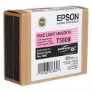 Картридж Epson T580B00 Magenta