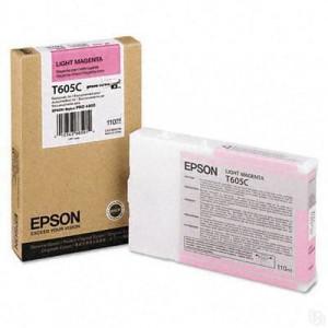 Картридж Epson T605C00 Magenta